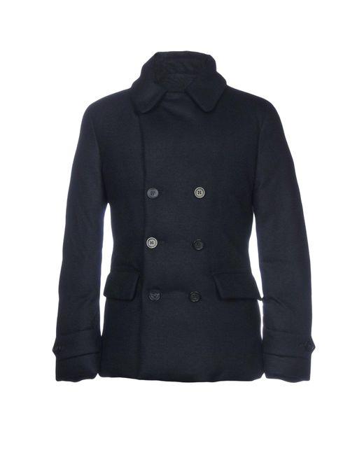 Emporio Armani - Blue Down Jacket for Men - Lyst
