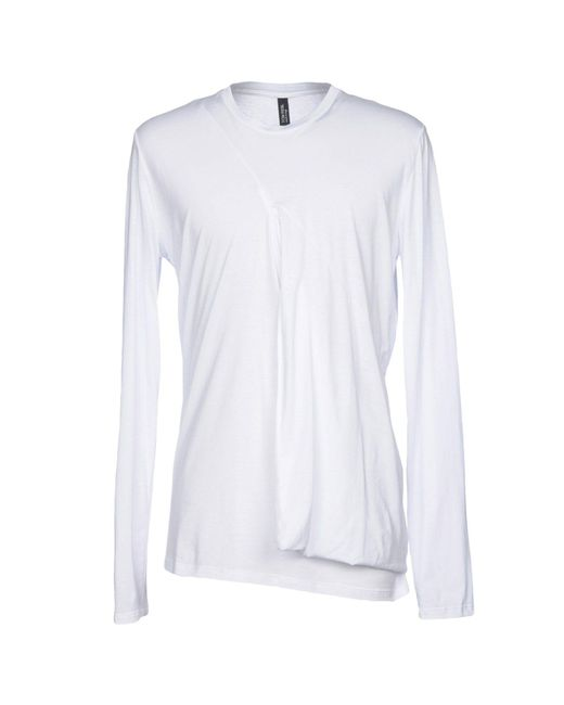 Tom Rebl - White T-shirt for Men - Lyst