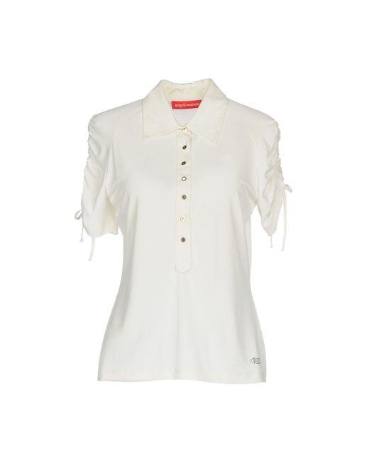 Angelo Marani - White Shirt - Lyst