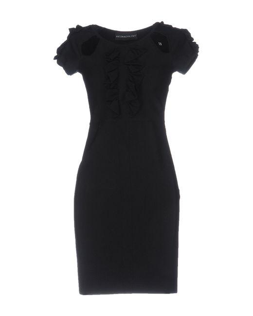 Antonino Valenti | Black Short Dress | Lyst