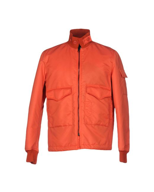 Spiewak - Orange Jacket for Men - Lyst
