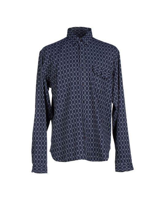 Oliver Spencer - Blue Shirt for Men - Lyst