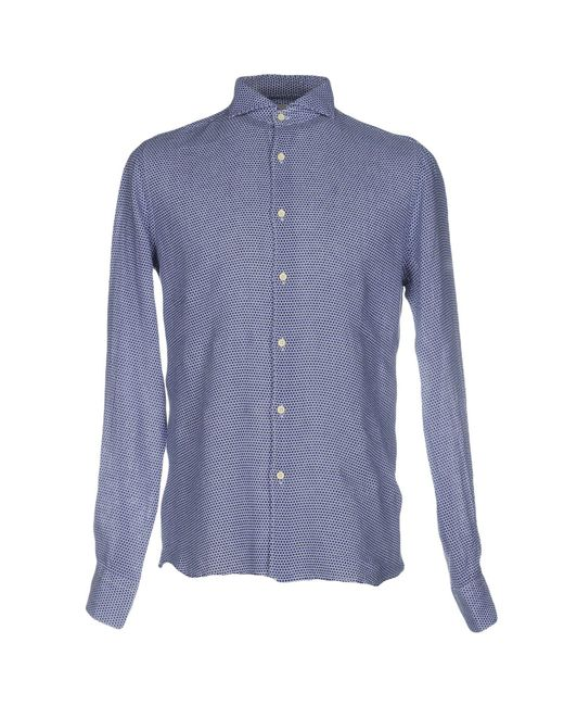 Xacus | Blue Shirt for Men | Lyst