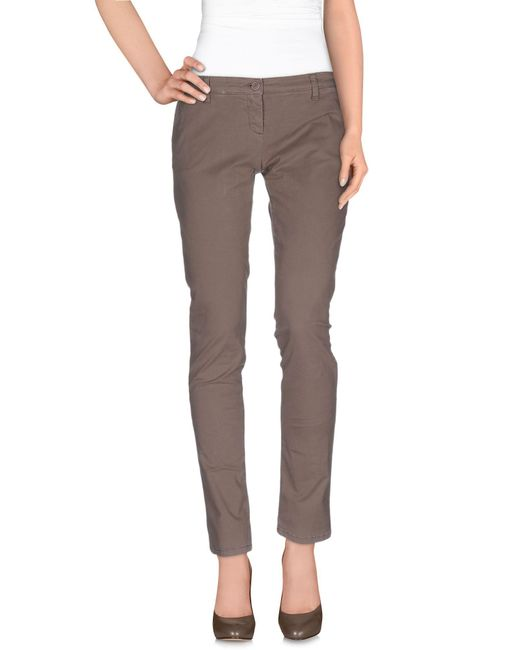 Uzés - Natural Casual Trouser - Lyst