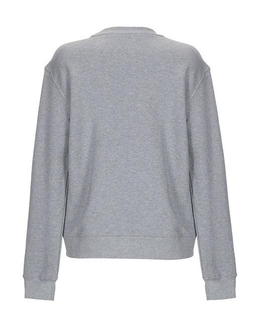 5938faf4a5 ... MSGM - Gray Sweatshirt - Lyst