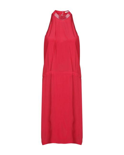 Iceberg - Red Knee-length Dress - Lyst