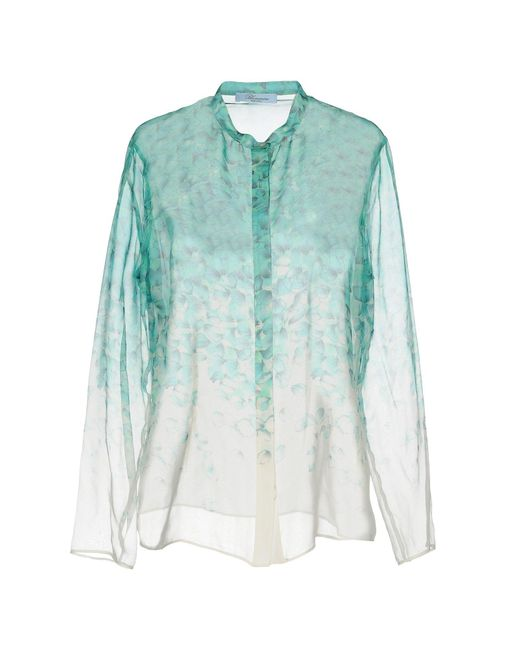 Blumarine Green Shirt