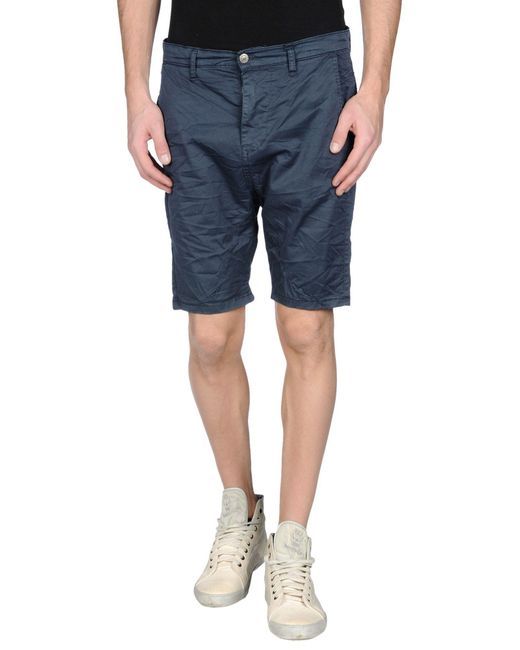 Imperial - Blue Bermuda Shorts for Men - Lyst