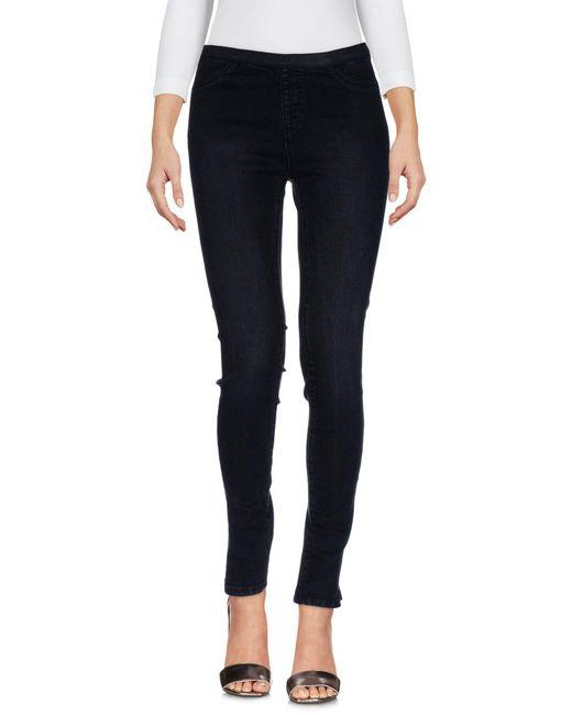 Silvian Heach - Black Denim Trousers - Lyst
