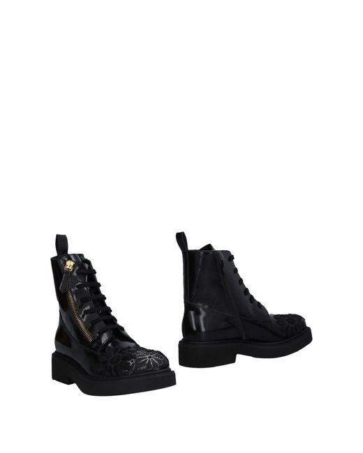 Sgn Giancarlo Paoli - Black Ankle Boots - Lyst