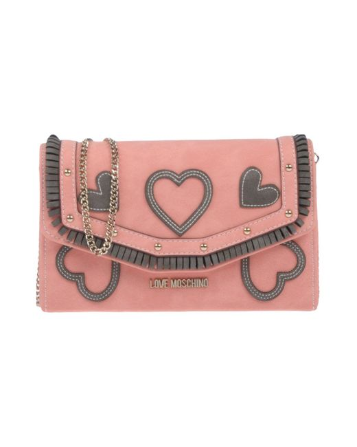 Love Moschino - Pink Cross-body Bag - Lyst