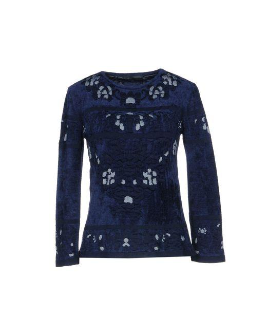 Alberta Ferretti - Blue Sweaters - Lyst