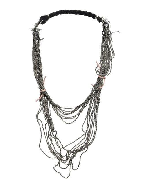 Emanuele Bicocchi | Black Necklace | Lyst