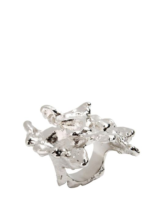 Tamara Akcay   Metallic Ring   Lyst