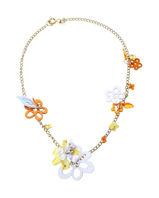 Matthew Williamson | White Necklace | Lyst