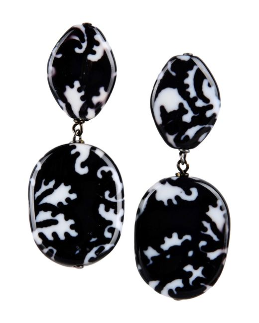 First People First | Black Earrings | Lyst