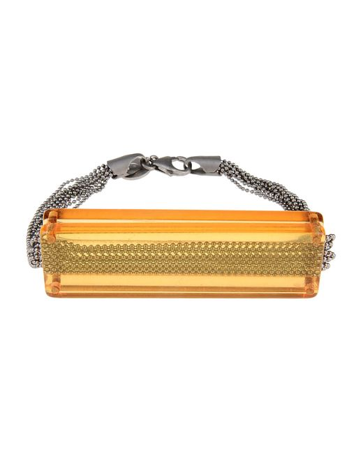 MM6 by Maison Martin Margiela   Orange Bracelet   Lyst