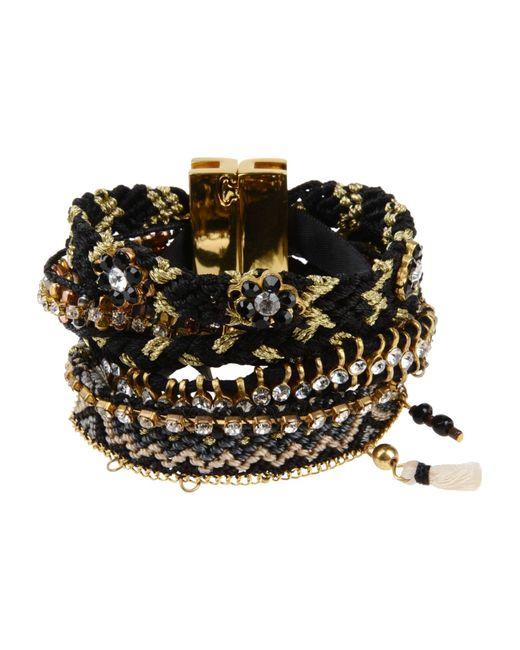 Hipanema | Black Bracelet | Lyst