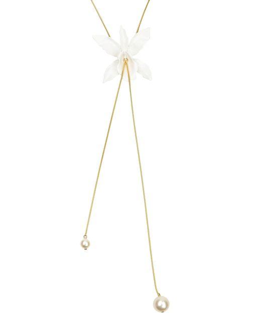 Jenny Packham | White Necklace | Lyst