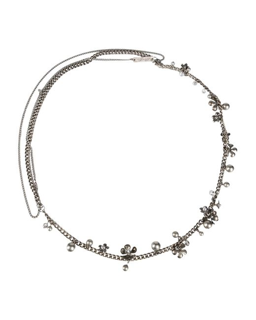 Liu Jo | Gray Necklace | Lyst