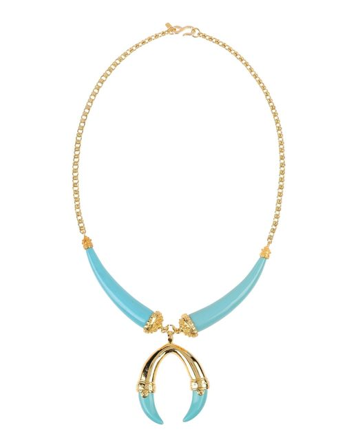 Kenneth Jay Lane | Blue Necklace | Lyst