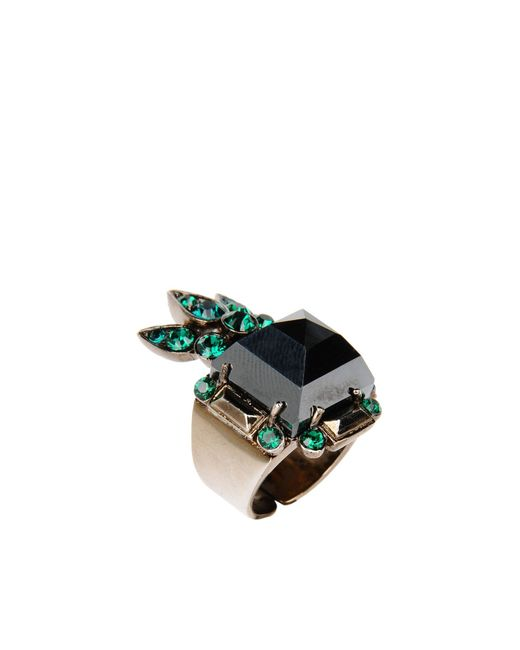 Roberto Cavalli | Gray Ring | Lyst