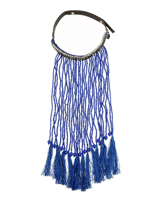 P.A.R.O.S.H. | Blue Necklace | Lyst