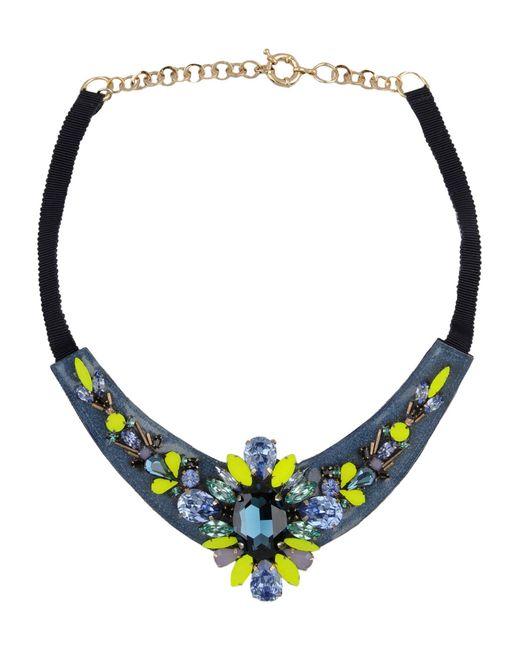 Matthew Williamson   Blue Necklace   Lyst