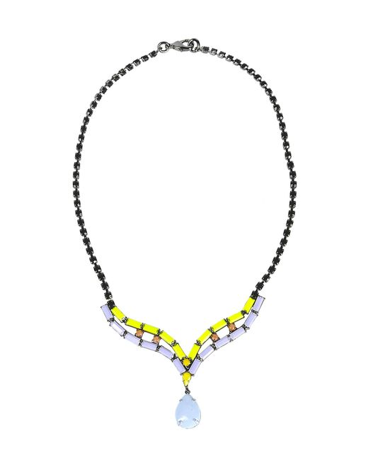 Tom Binns | Purple Necklace | Lyst