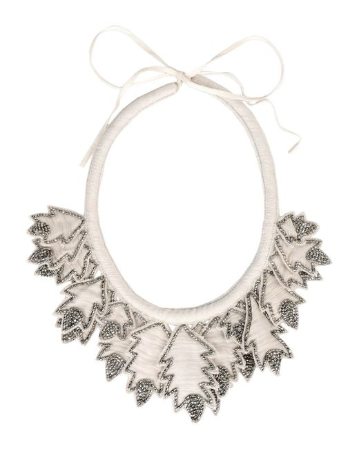 INTROPIA | Gray Necklace | Lyst