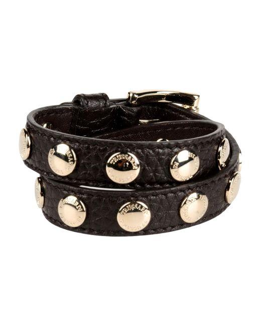 Trussardi | Brown Bracelet | Lyst