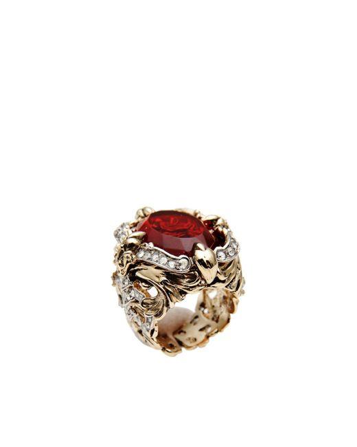 Roberto Cavalli | Red Ring | Lyst