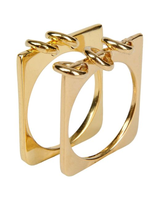 A Peace Treaty | Metallic Ring | Lyst