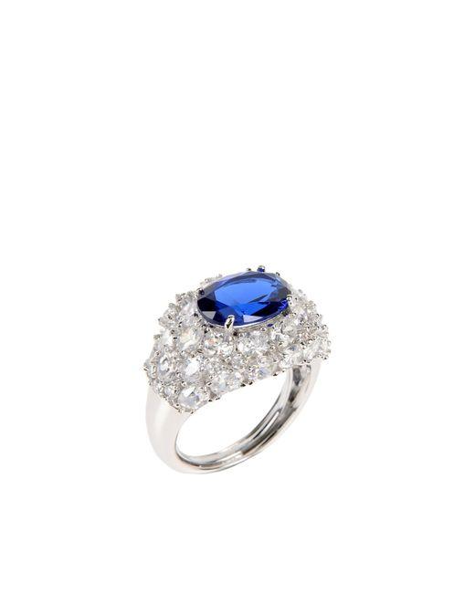 CZ by Kenneth Jay Lane | Blue Ring | Lyst