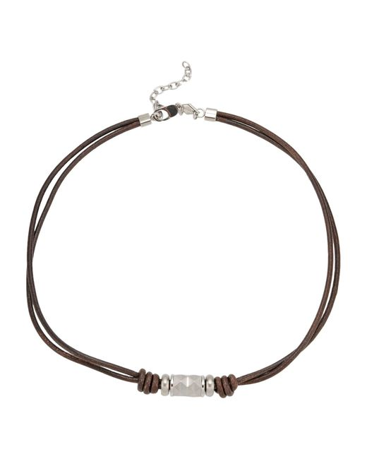 Fossil | Brown Necklace | Lyst