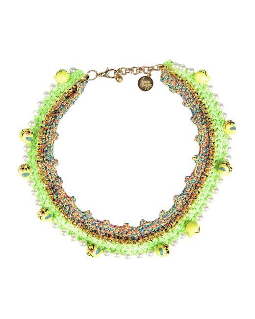 Venessa Arizaga | Green Necklace | Lyst