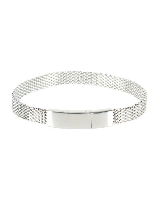 Emporio Armani   Metallic Bracelet   Lyst