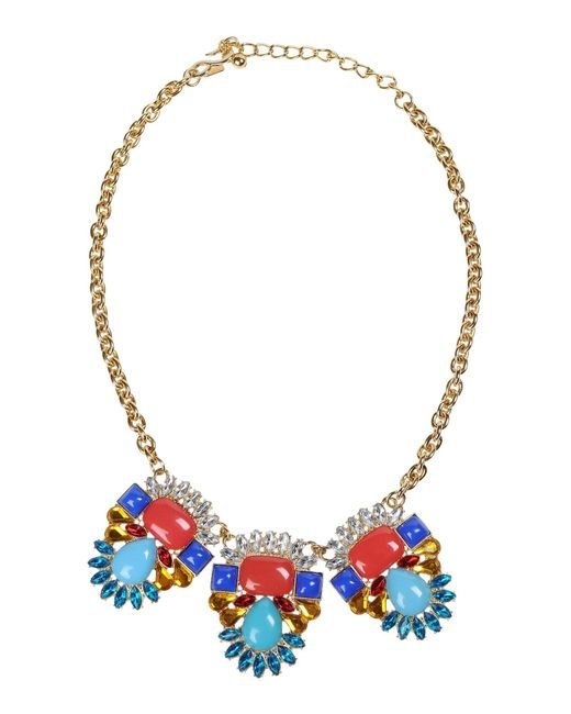 Kenneth Jay Lane | Multicolor Necklace | Lyst