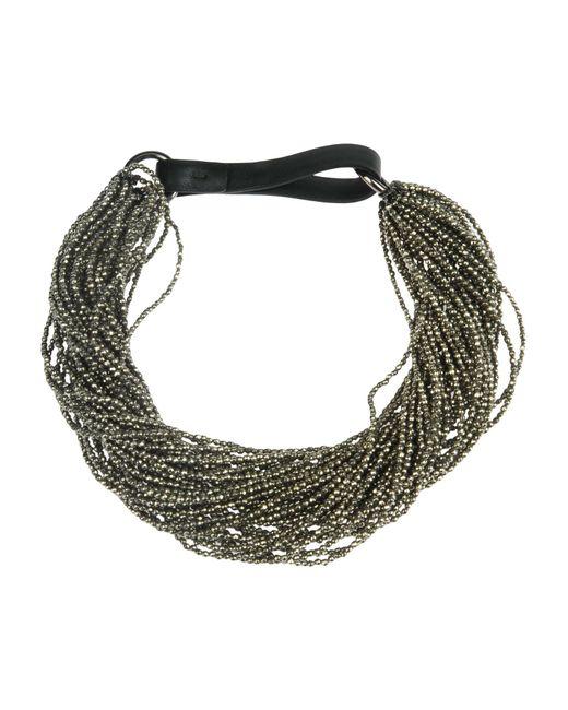 Brunello Cucinelli   Gray Necklace   Lyst