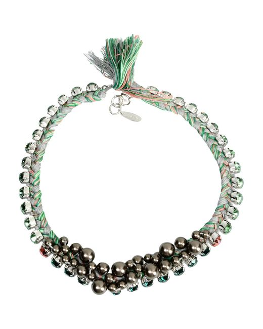 Joomi Lim | Green Necklace | Lyst