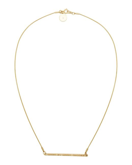 Marc By Marc Jacobs   Metallic Necklace   Lyst