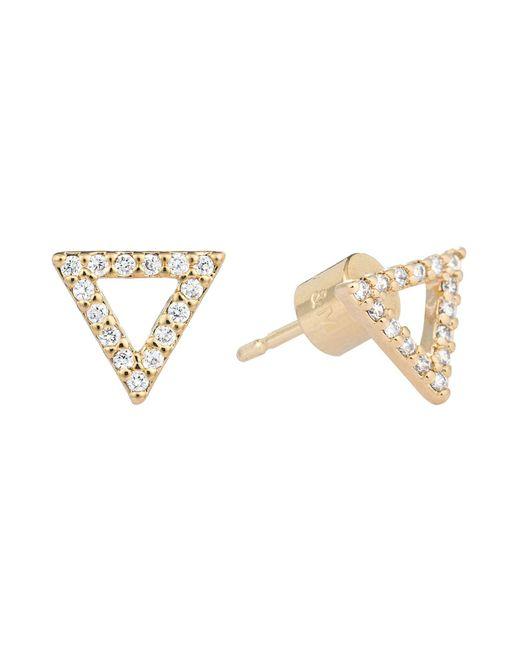 Astrid & Miyu   Metallic Earrings   Lyst