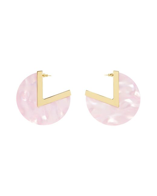 Maria Francesca Pepe | Pink Earrings | Lyst
