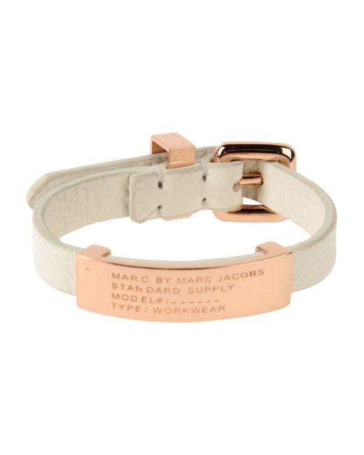 Marc By Marc Jacobs   White Bracelet   Lyst