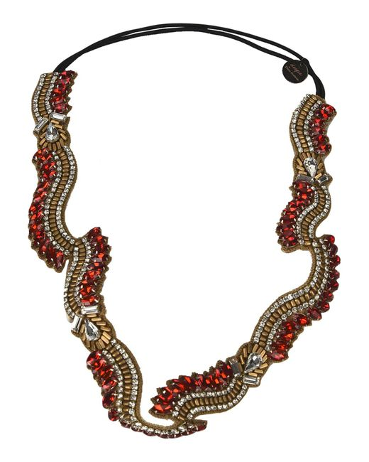 Deepa Gurnani | Red Hair Accessory | Lyst
