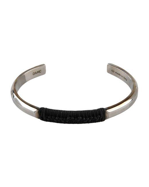 OAMC | Metallic Bracelet | Lyst