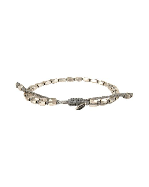 M. Cohen | Gray Bracelet | Lyst