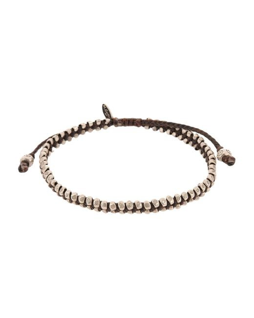 M. Cohen | Brown Bracelet | Lyst
