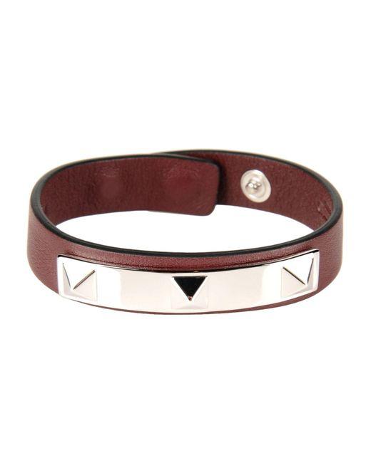 Valentino | Brown Bracelet for Men | Lyst