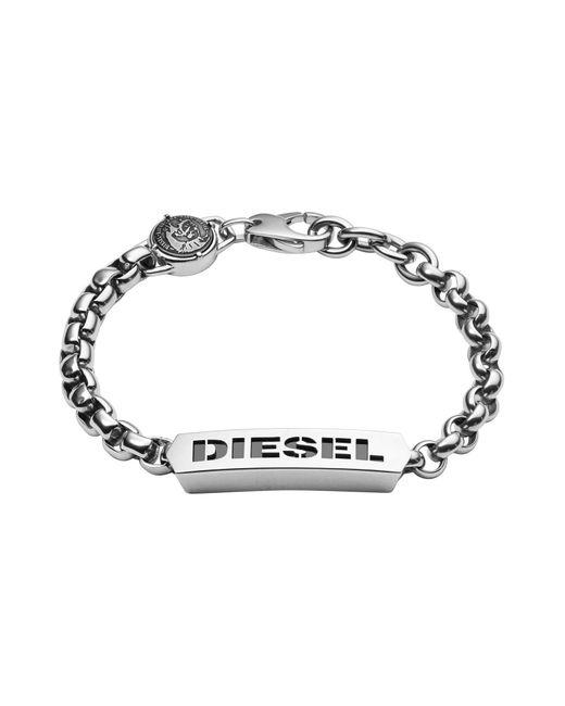 DIESEL   Metallic Bracelet Dx0993 for Men   Lyst